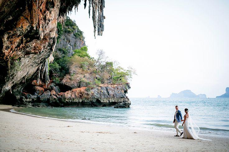 Leanne & Felix Rayavadee, Krabi