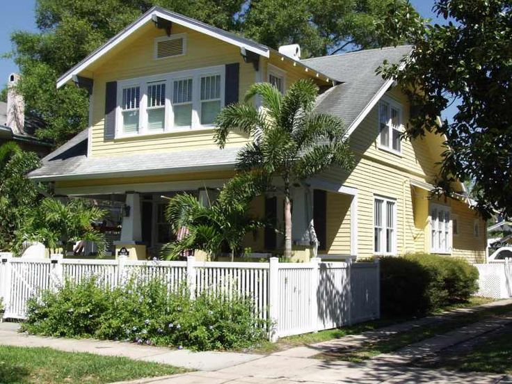 104 best arts crafts houses images on pinterest for Craftsman homes for sale in florida