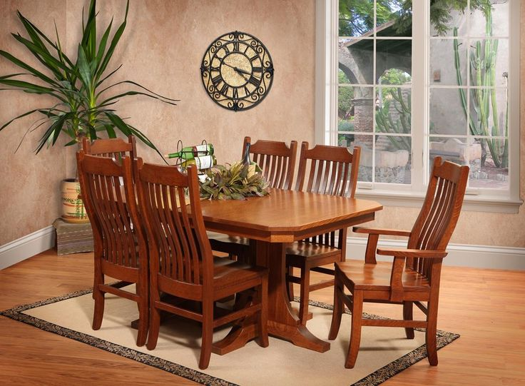 This Rustic Dining Set Is Comfortable And Welcoming.