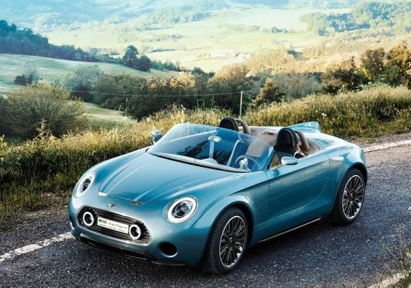 2014 Mini Superleggera Vision Front Exterior 600x420 2014 Mini Superleggera Vision Full Review with Images