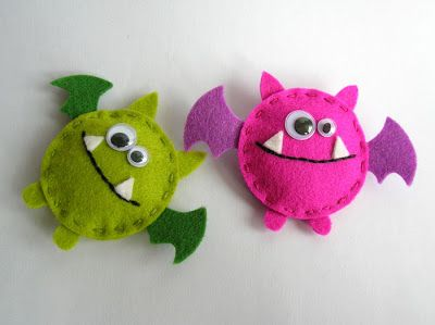 Feltia: Monstruos de fieltro / Felted monsters