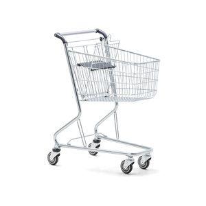 Kompaktní nákupní vozík Wanzl City Shopper  se velmi dobře uplatní v buticích, parfumeriích, drogeriích nebo v prodejnách s delikatesami.