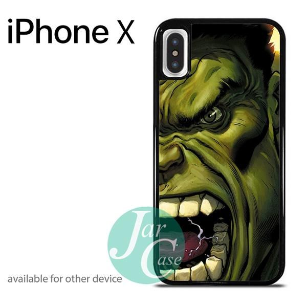 Hulk in Awesome Art 2 Phone case for iPhone X
