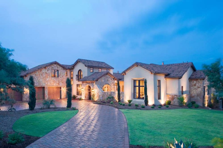 38 best dream homes tuscan images on pinterest dream for Texas mediterranean style homes