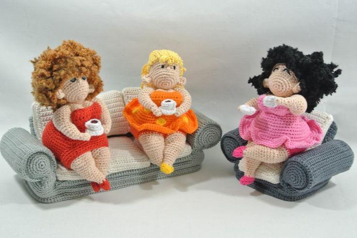 Dikke Dames Haken - Uniekadoos Great Fat Ladies!