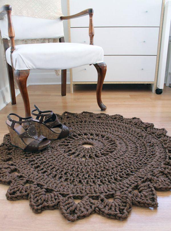 Crocheted  Rug-Creative Carmelina