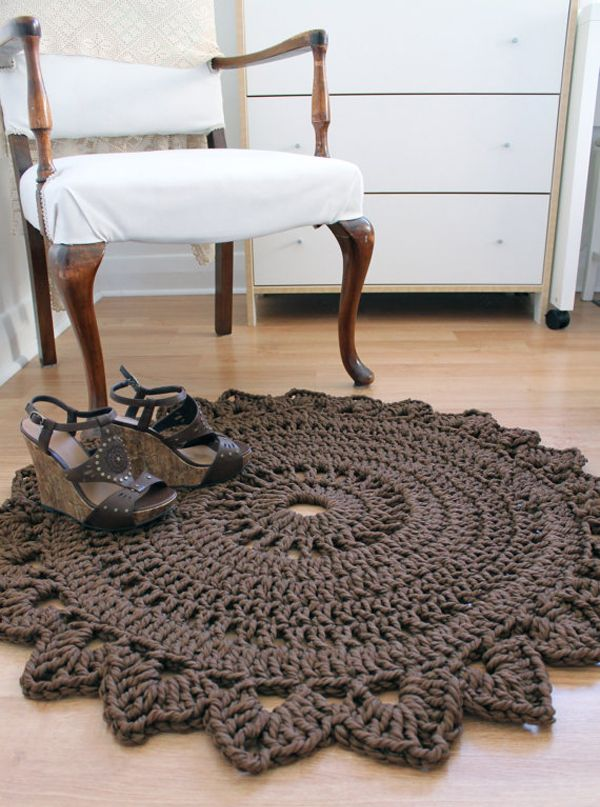 Crocheted  Rug-Creative Carmelina