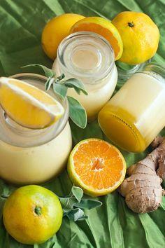 ДЖЕМ. Взбитый джем лимон мандарин имбирь... 4 лимона 4 мандарина пучок шалфея 3-4 см корня имбиря сахар желатин