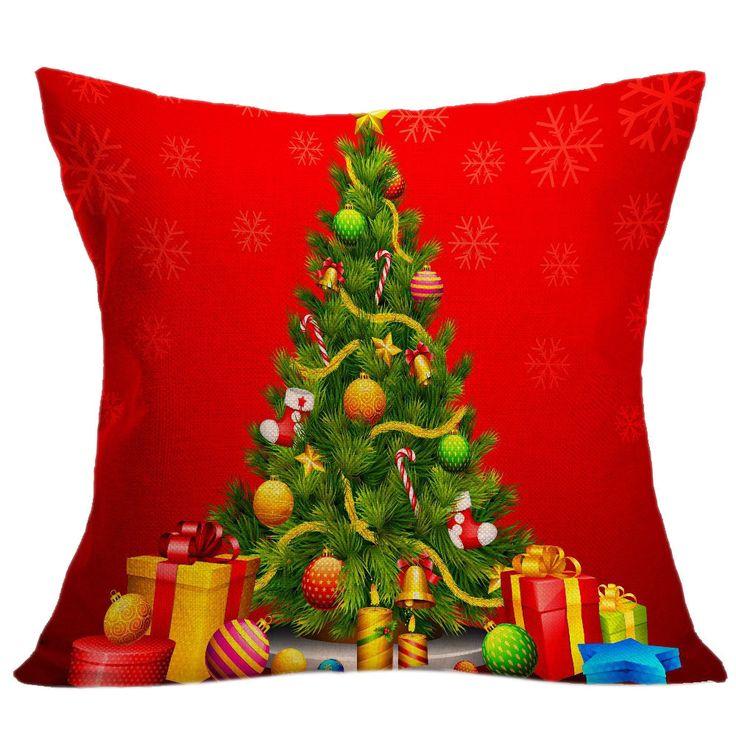 Dia das bruxas Lance Capa de Almofada Fronha Cintura Home Decor Feliz Natal Ornamento addobbi natale #1520 em   de   no AliExpress.com | Alibaba Group