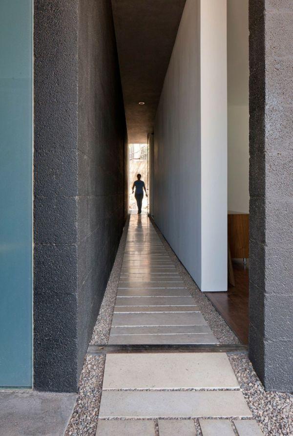 Traumhäuser Minimalistisches Architektenhaus Aus Beton Und Glas In