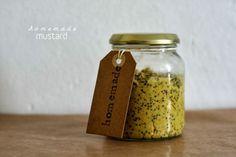 Recipe homemade mustard / Zelfgemaakte mosterd recept
