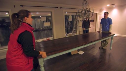 Fixer Upper Extras: Custom French Country Table