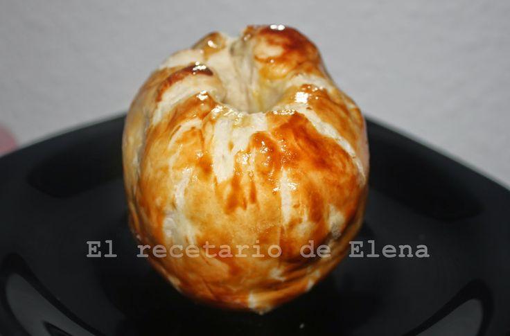 Elena y su recetario: Manzana en hojaldre