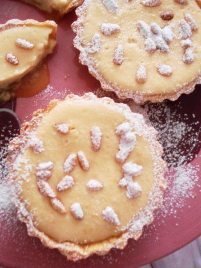 Lemon & ricotta tarts | Baking | Pinterest
