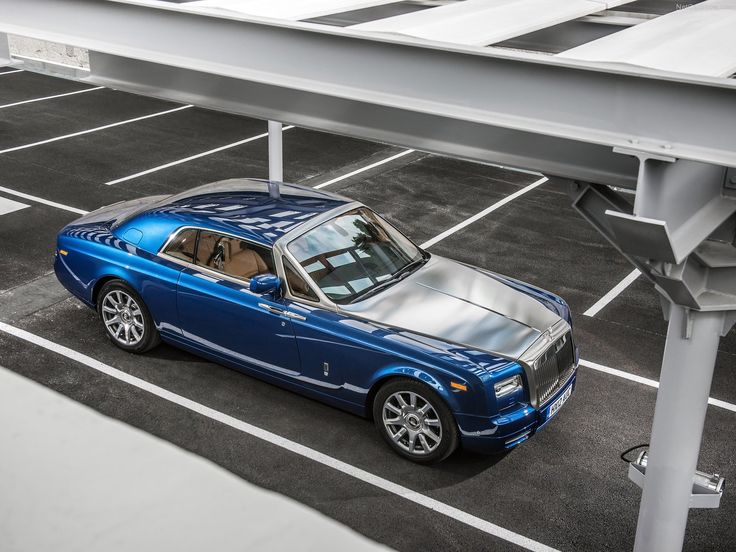 2013 Rolls Royce Phantom Coupe, $469K. This car, is perfection.
