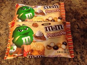 Details about M&M's Pecan Pie Milk Chocolate 2 Bags 9.9 oz Limited ...