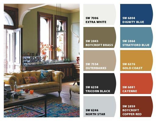 Living Room Colors For Dark Furniture