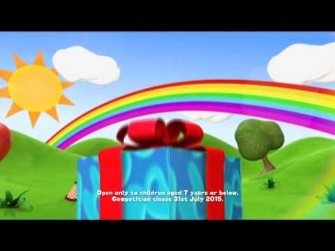 Cbeebies Birthday Bash Contest (Juli 2015)