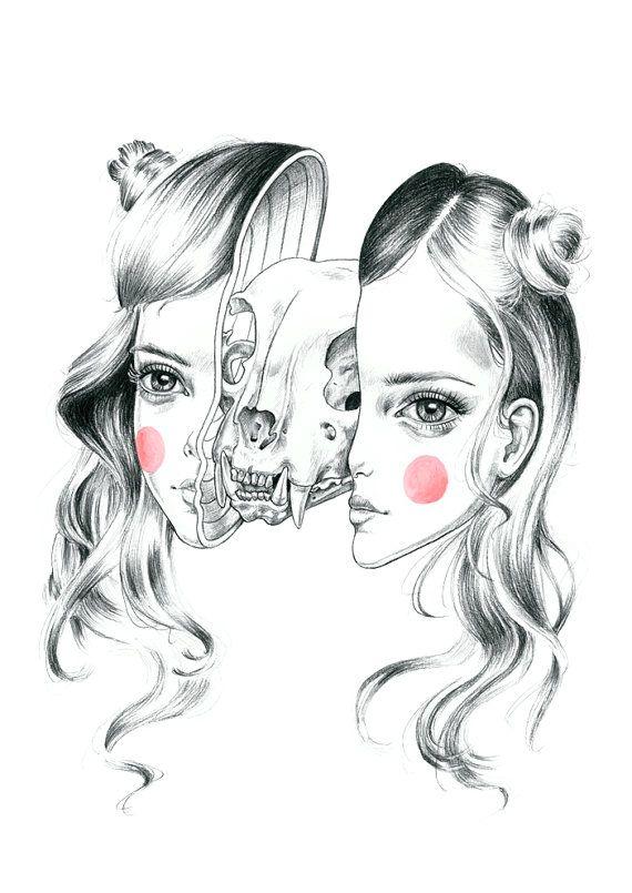 Katze-Girls Don't Cry - limitierte Auflage drucken