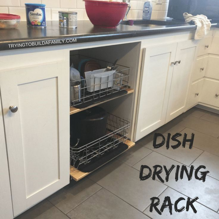 Everyone Here At Our House Hates Using A Dishwasher Well Dish Rack Drying Drying Rack Kitchen Dishwasher Racks