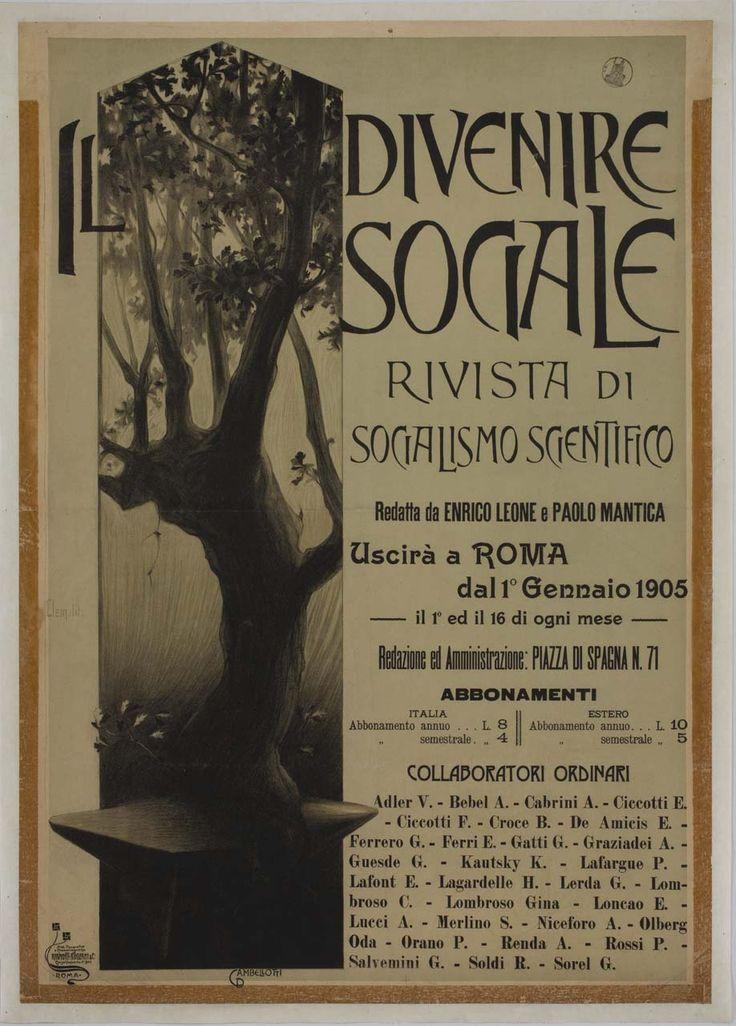 Cambellotti Duilio, 1904