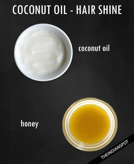 1tbsp honey + 4tbsp oil. Warm and mix. Apply, leaving in for 20 minutes. Wash with mild shampoo.