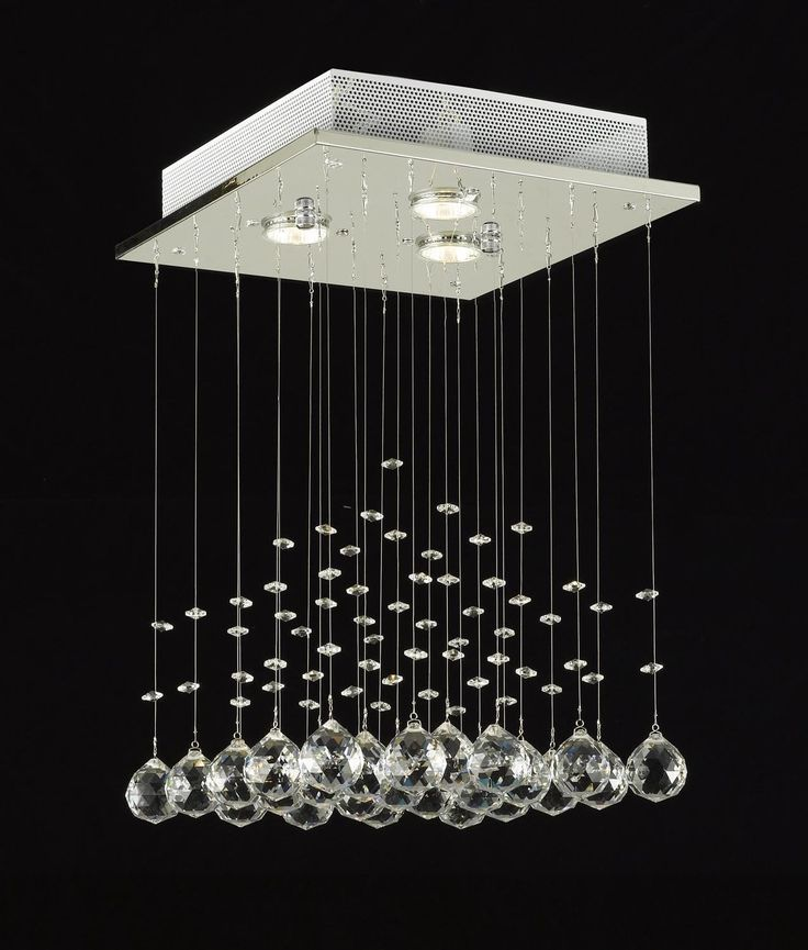 100 CRYSTAL CHANDELIER A excellent crystal fixture