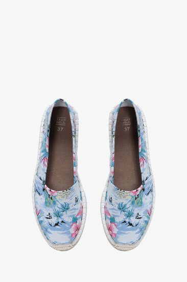 #tropical #floral print #espadrille #shoes #musthave #TALLYWEiJL