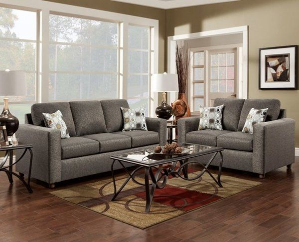 flash furniture exceptional designs living room set in vivid onyx fabric - Living Room Set Sales