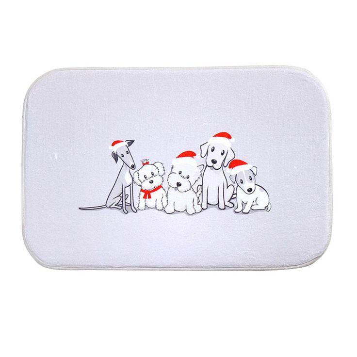 High Quality Anti-slip Anti-bacteria White Puppy Dogs Mat