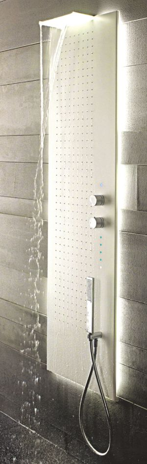 Fantini Acquapura Bathroom Shower Panels