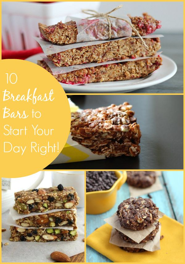 Never skip breakfast again now that you have these Easy Breakfast Bar Recipes! From chocolate to peanut butter to zucchini, there's something for everyone!