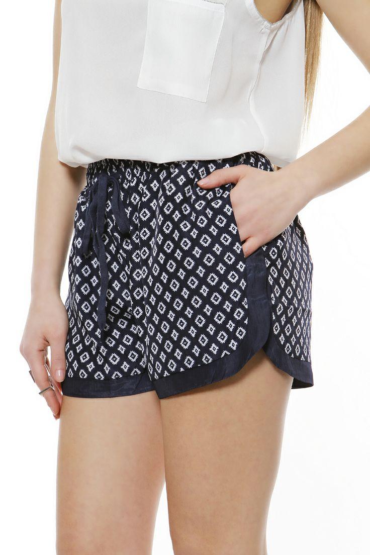 Printed sport shorts