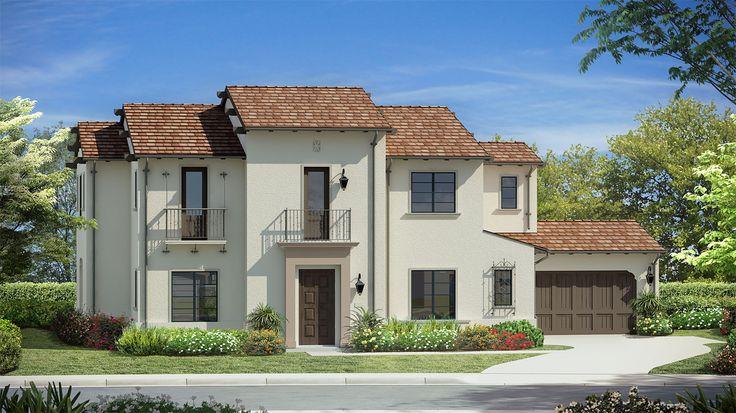 Residence One Floor Plan at Estancia at Cielo in Rancho Santa Fe, CA - Taylor Morrison