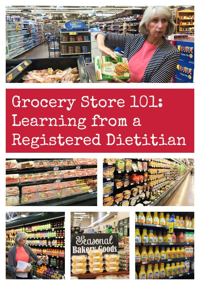 Grocery Store 101: Learning from a Registered Dietitian - Get tips on how to avoid typical grocery store pitfalls and make smart decisions about the food you buy.