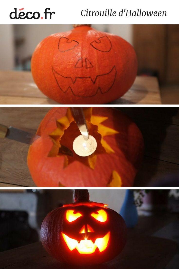 tuto citrouille halloween