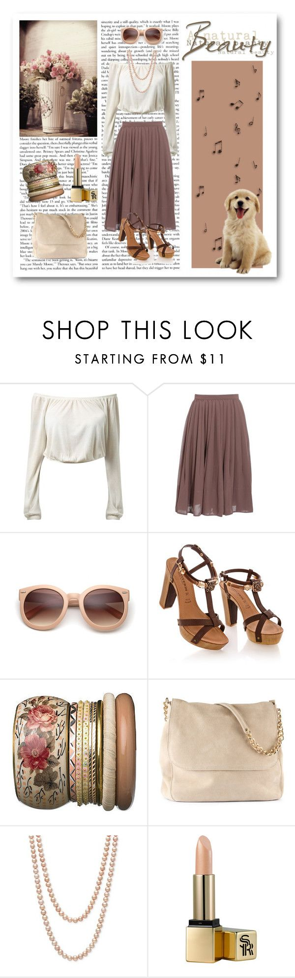 """""""#189"""" by scorpion1028 ❤ liked on Polyvore featuring Club Monaco, Ariella, New Look, H&M, Belle de Mer and Sunday Riley"""