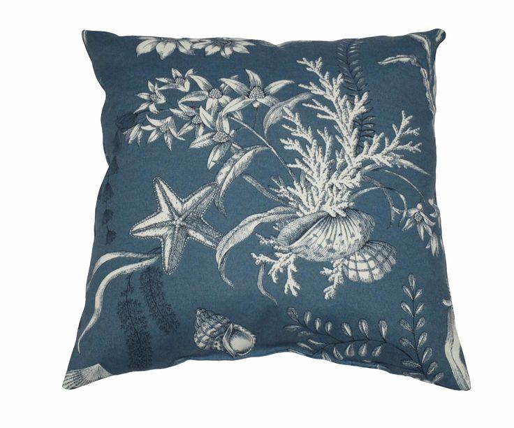 Nautical Outdoor Throw Pillow