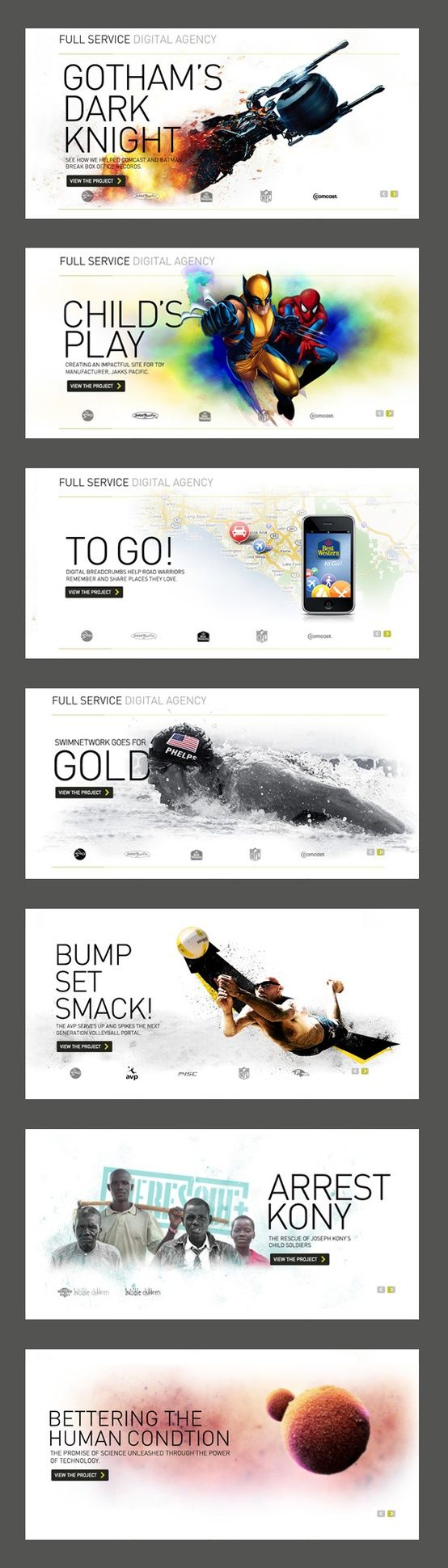 Full Service Digital Agency ~ #WebDesign #GraphicDesign #Inspiration more on http://themeforest.net/?ref=Vision7Studio: