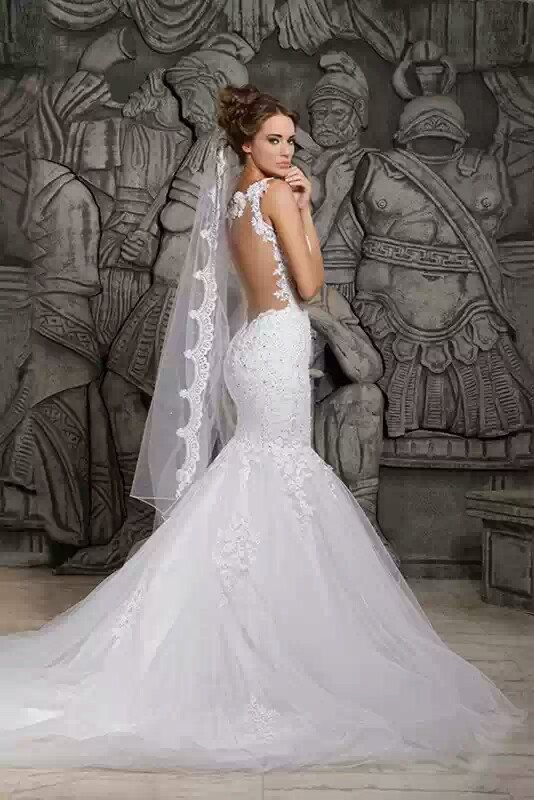 10  ideas about Mermaid Wedding Dresses on Pinterest  Lace ...