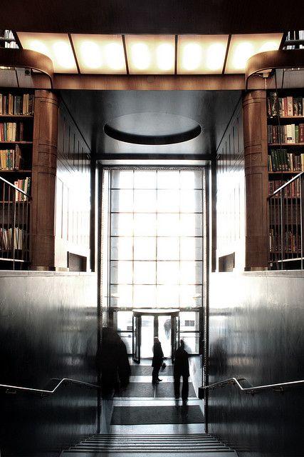 Gunnar Asplund - Stockholm Library by fredefele, via Flickr
