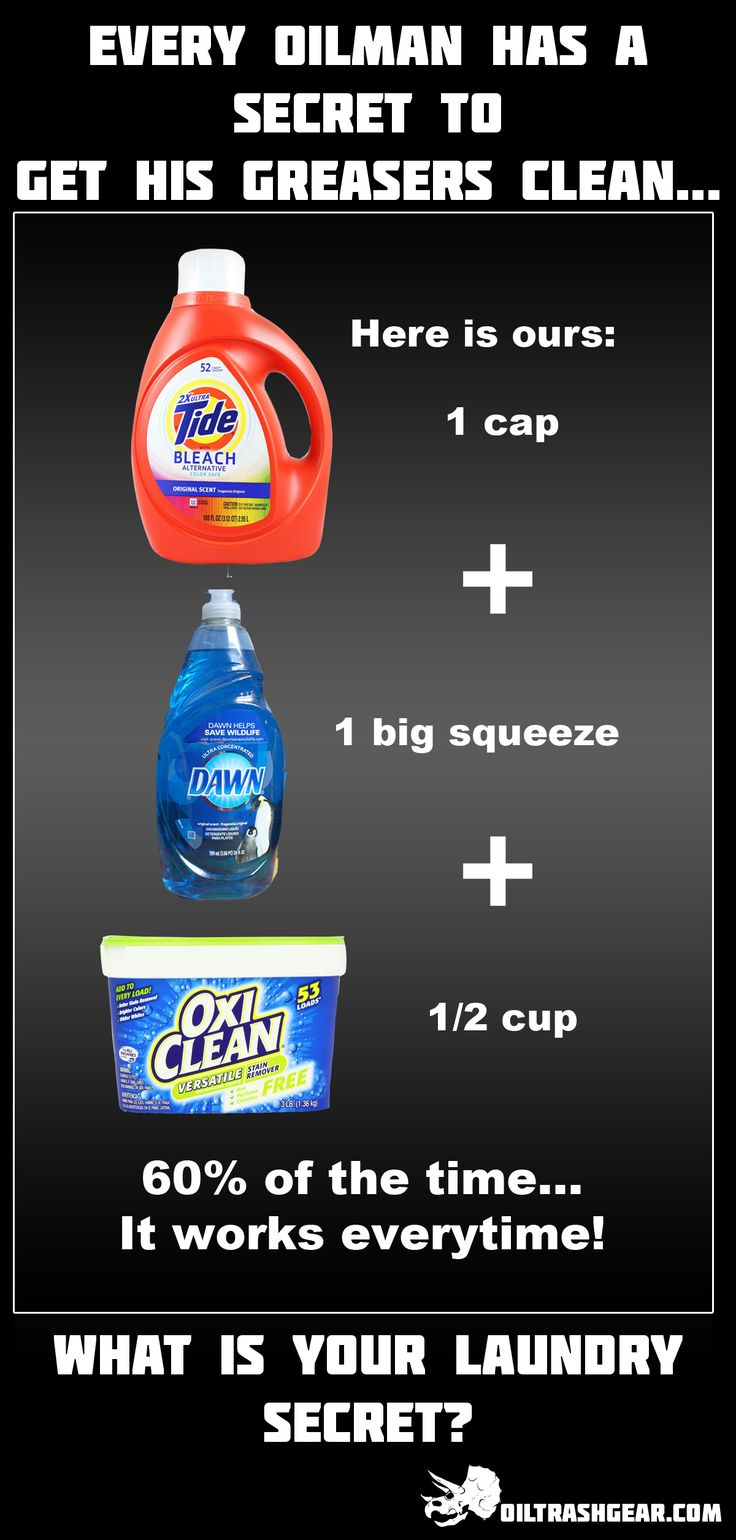 How do you clean your greaser coveralls? Here is how we do ours... http://oiltrashgear.com
