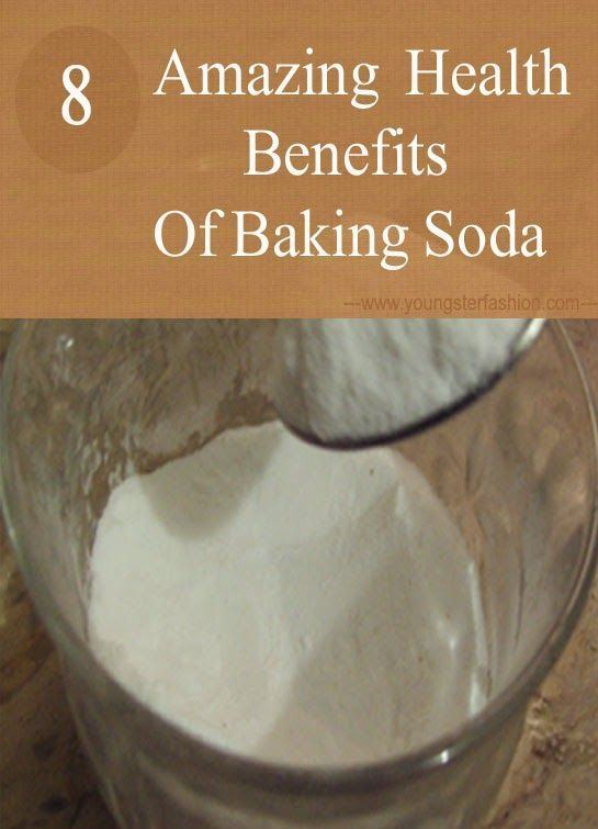 8 Amazing health benefits of baking soda