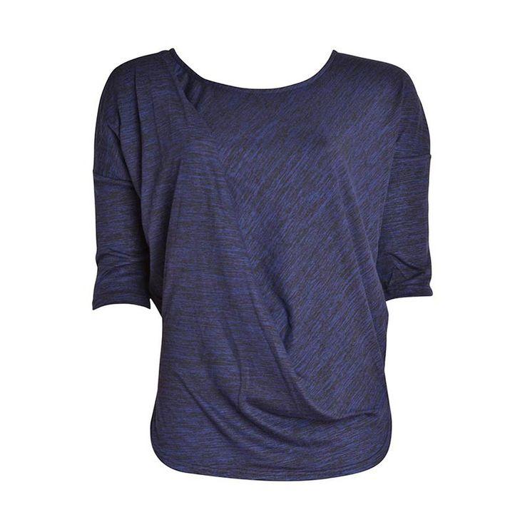Shirt blauw/zwart - Ichi: http://www.shoppingsmall.nl/shirt-blauw-zwart-ichi.html