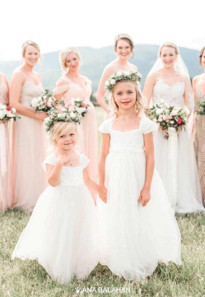 Ivory Flower Girl Dress Pageant Dress Communion