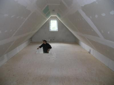 Hausbesichtigung, Massivhaus Rohbauten, im Bau befindliche Häuser, NZ-BAU - KfW - Effizienzhäuser mit Wärmepumpe
