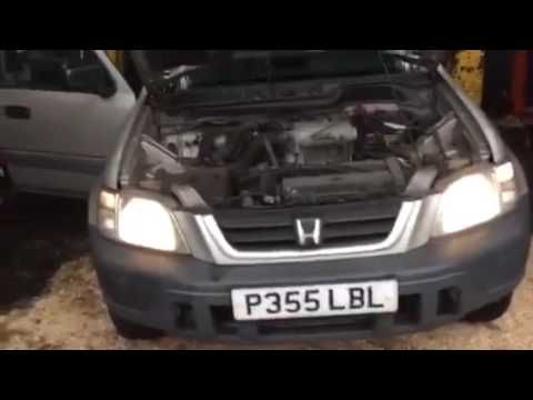 разбор Honda CR-V