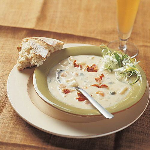 Spicy Hot Potato Soup with Cabot Reduced Fat Jalapeno Cheddar