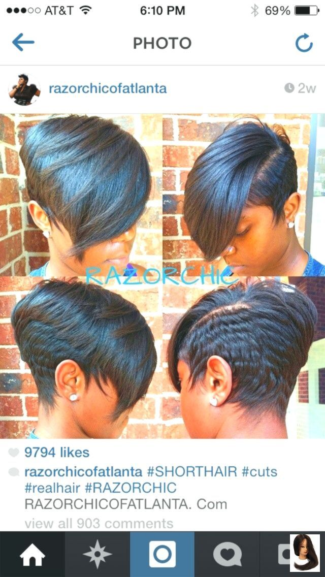 #cut #razorchicofatlanta #soft Black Hair #Stunning #style Atemberaubender Schnitt ...,  #ate...