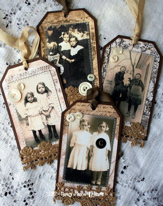 What a fun way to save family photos!